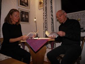 Lesung Ingeborg Bachmann und Paul Celan